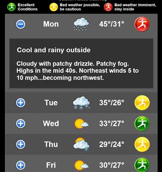 WeatherBug Ekran Görüntüleri - 1