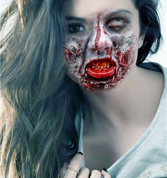 Zombie Face Photo Maker HD Ekran Görüntüleri - 2