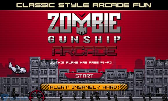 Zombie Gunship Arcade Ekran Görüntüleri - 4