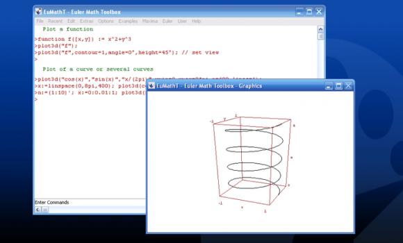 Euler Math Toolbox Ekran Görüntüleri - 1