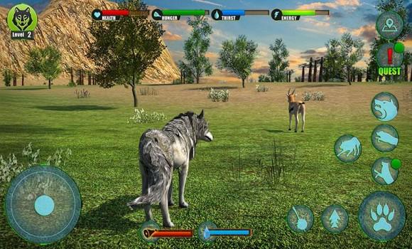 Ultimate Wolf Adventure 3D Ekran Görüntüleri - 2