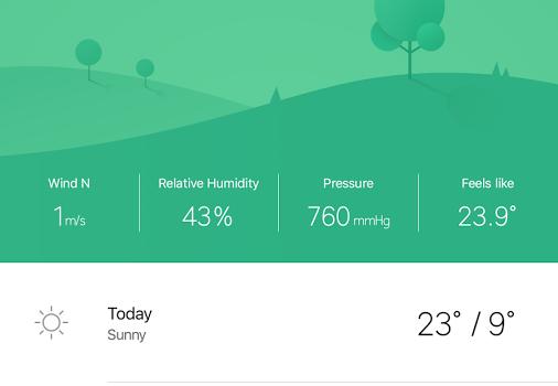 Weather Mate Ekran Görüntüleri - 7