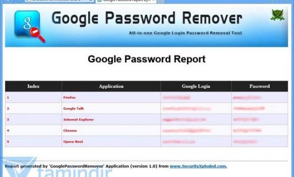 Google Password Remover Ekran Görüntüleri - 1