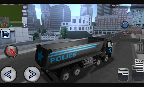 3D Police Truck Simulator 2016 Ekran Görüntüleri - 4