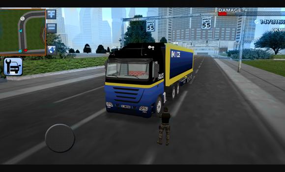 3D Police Truck Simulator 2016 Ekran Görüntüleri - 3
