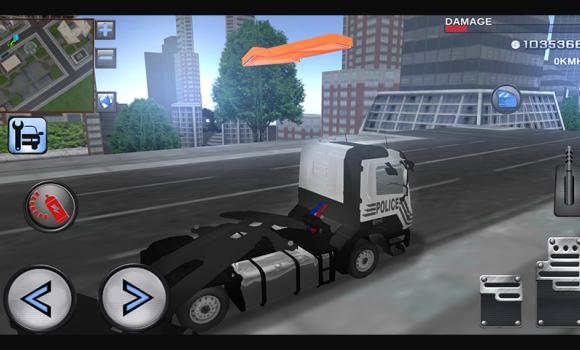 3D Police Truck Simulator 2016 Ekran Görüntüleri - 2