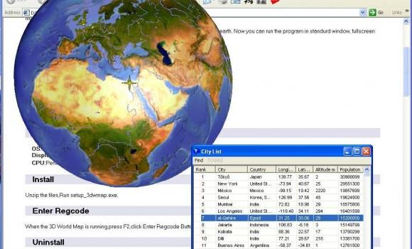 3D World Map Ekran Görüntüleri - 1