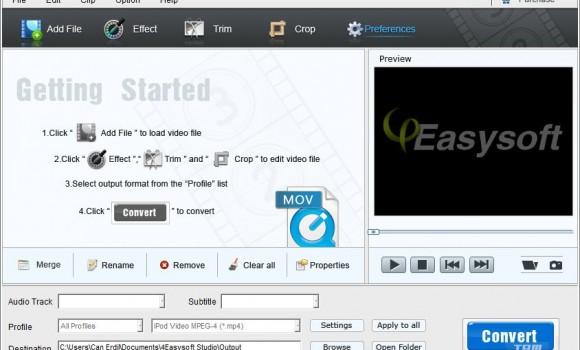 4Easysoft Free MOV Converter Ekran Görüntüleri - 3