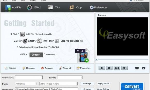 4Easysoft Free MP4 Converter Ekran Görüntüleri - 3
