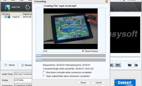 4Easysoft Free MP4 Converter Ekran Görüntüleri - 1