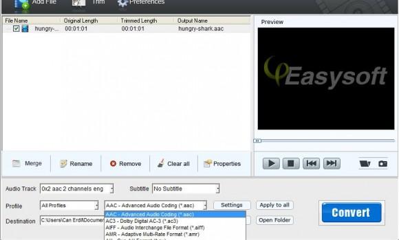 4Easysoft Free MP4 to MP3 Converter Ekran Görüntüleri - 2