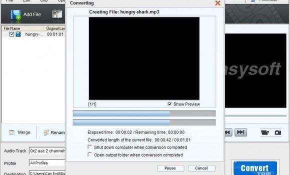 4Easysoft Free MP4 to MP3 Converter Ekran Görüntüleri - 1