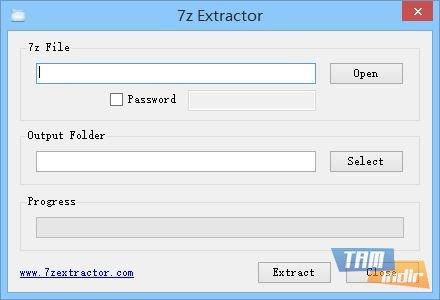 7z Extractor Ekran Görüntüleri - 1