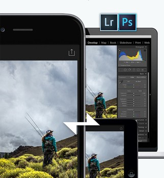 Adobe Lightroom for iPhone Ekran Görüntüleri - 4