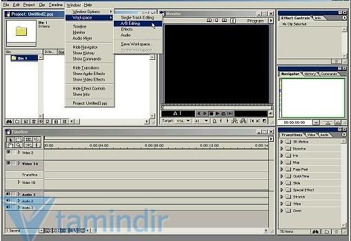 Adobe Premiere 6.0 Ekran Görüntüleri - 3