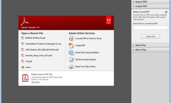 Adobe Reader Ekran Görüntüleri - 3