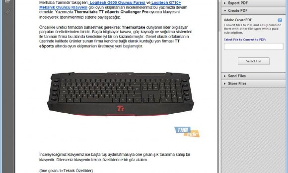Adobe Reader Ekran Görüntüleri - 2