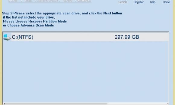 Aidfile Recovery Software Ekran Görüntüleri - 2