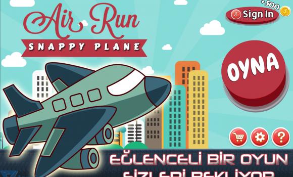 Air Run: Snappy Plane Ekran Görüntüleri - 5