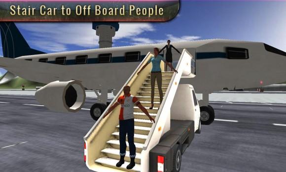 Airport Plane Ground Staff 3D Ekran Görüntüleri - 3