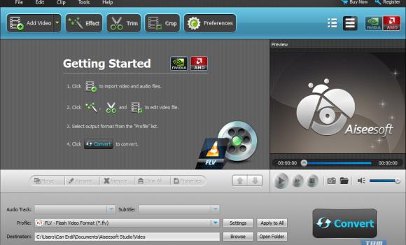 Aiseesoft FLV Video Converter Ekran Görüntüleri - 2
