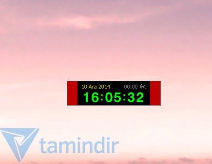 Alarmlı Sayısal Saat Ekran Görüntüleri - 1