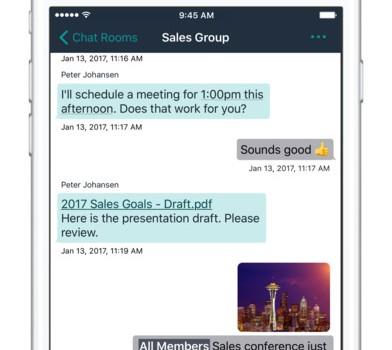 Amazon Chime Ekran Görüntüleri - 2