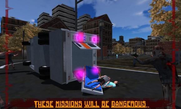 Ambulance Rescue: Zombie City Ekran Görüntüleri - 1