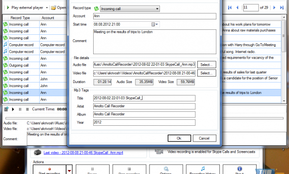 Amolto Call Recorder Premium Ekran Görüntüleri - 4