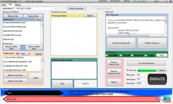 Android Manager Ekran Görüntüleri - 4