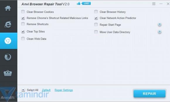 Anvi Browser Repair Tool Ekran Görüntüleri - 2