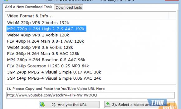 AoA Video Downloader Ekran Görüntüleri - 2