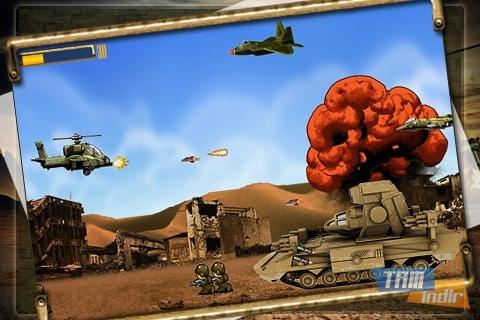 Apache Attack: Heli Arcade Ekran Görüntüleri - 6