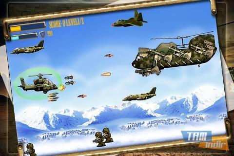 Apache Attack: Heli Arcade Ekran Görüntüleri - 5