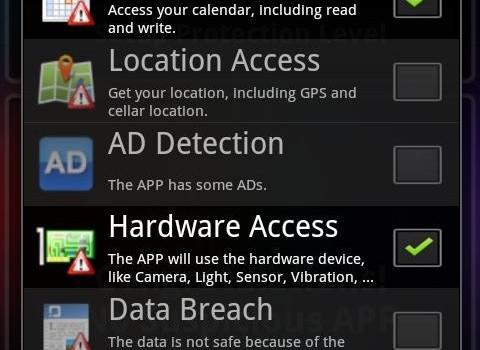 APK Anti-Virus Bodyguard Ekran Görüntüleri - 5