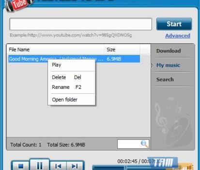 Apowersoft Youtube To MP3 Ekran Görüntüleri - 1