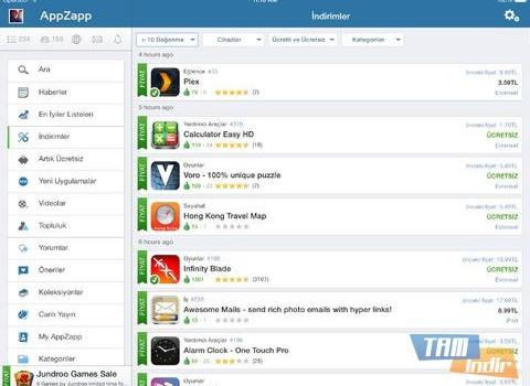 AppZapp HD Pro Ekran Görüntüleri - 5