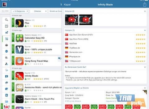 AppZapp HD Pro Ekran Görüntüleri - 3