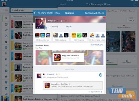 AppZapp HD Pro Ekran Görüntüleri - 2