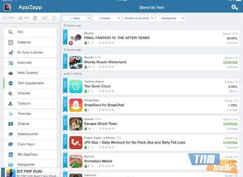 AppZapp HD Pro Ekran Görüntüleri - 1