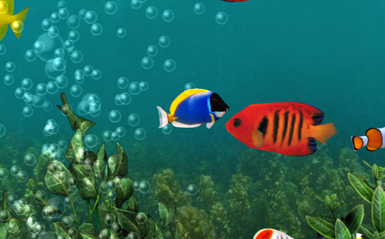 Aquarium Free Live Wallpaper Ekran Görüntüleri - 7