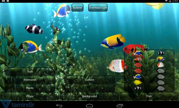 Aquarium Free Live Wallpaper Ekran Görüntüleri - 3