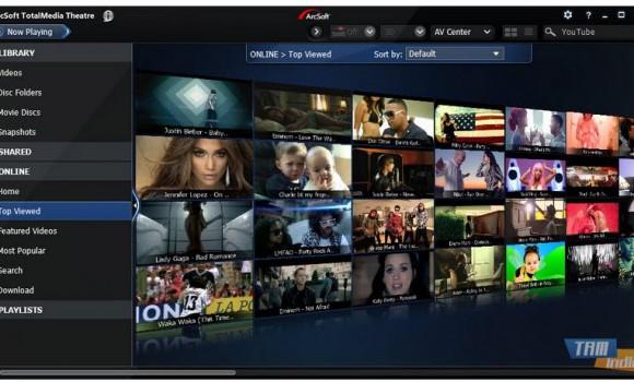 ArcSoft TotalMedia Theatre Ekran Görüntüleri - 3