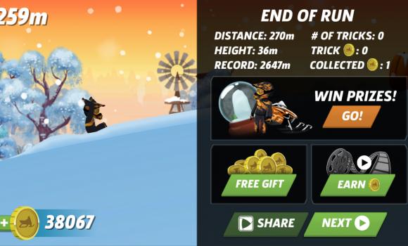 Arctic Cat Snowmobile Racing Ekran Görüntüleri - 1