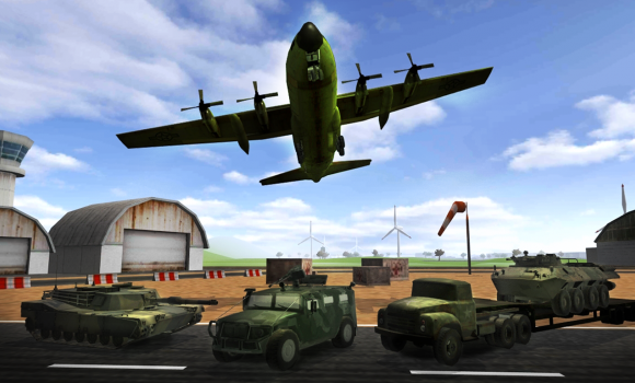 Army plane cargo simulator 3D Ekran Görüntüleri - 4