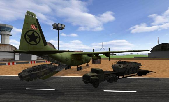 Army plane cargo simulator 3D Ekran Görüntüleri - 1