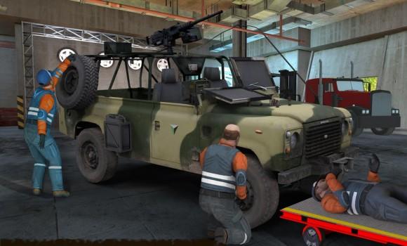 Army Truck Mechanic Workshop Ekran Görüntüleri - 3