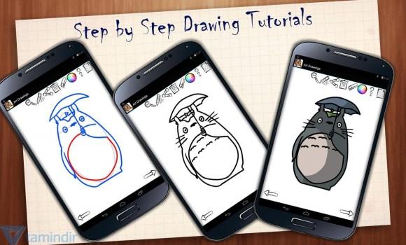 Art Drawings: Ghibli Anime Ekran Görüntüleri - 9