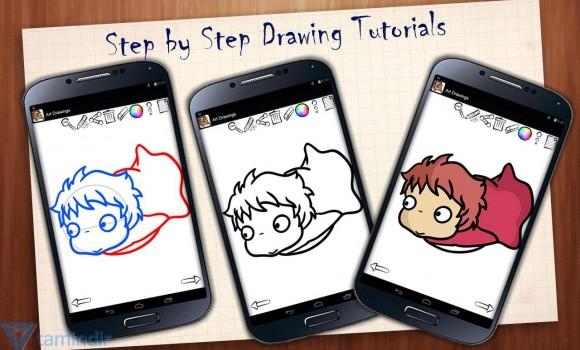 Art Drawings: Ghibli Anime Ekran Görüntüleri - 6