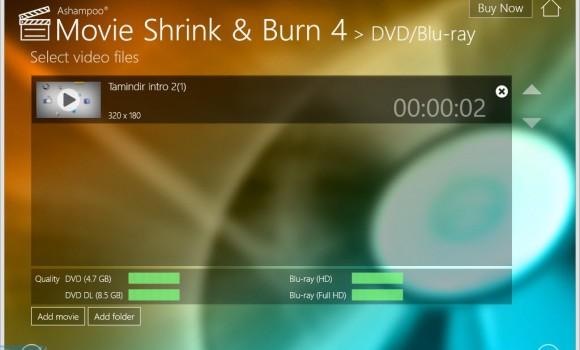 Ashampoo Movie Shrink & Burn Ekran Görüntüleri - 2